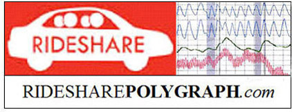 if a polygraph test is needed for a rideshare company matter