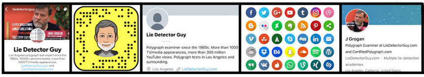 best Los Angeles oolygraph test social media